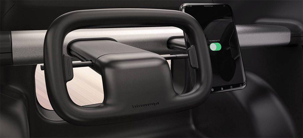 Велосипедная компания Biomega представила миниатюрный электрокар SIN
