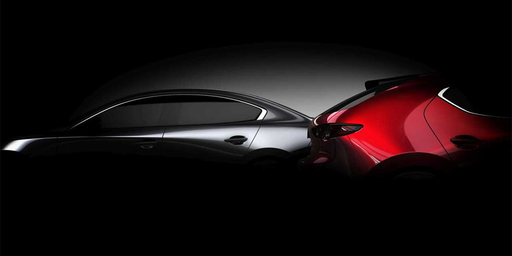Компания Mazda в Лос-Анджелесе представит новое поколение Mazda 3