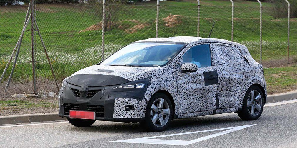 Renault вывела на финальные тесты новый хэтчбек Renault Clio