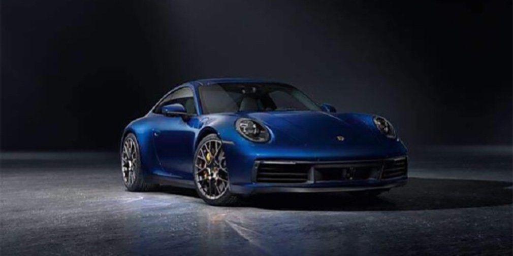 Внешность нового Porsche 911 рассекретили до премьеры