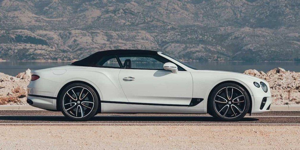 Новому Bentley Continental GT дали мягкую крышу Tweed