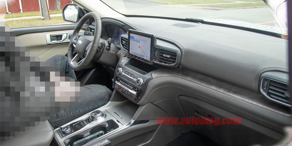 В Сети показали салон нового внедорожника Ford Explorer