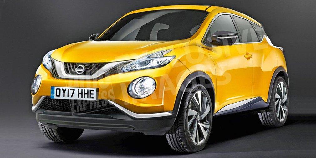 Новый Nissan Juke дебютирует только летом 2019 года
