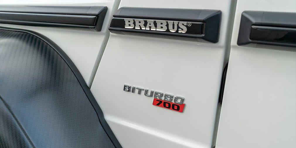 Brabus выпустил 700-сильный внедорожник с 60-сантиметровым клиренсом