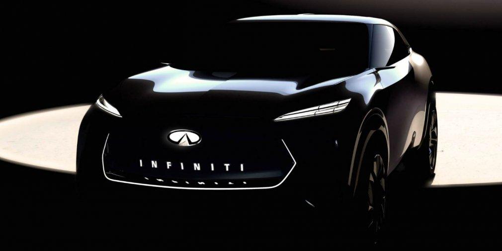 Infiniti привезет в Детройт электрический кроссовер