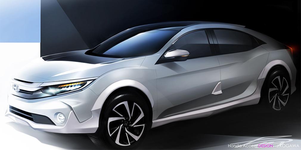 Компания Honda анонсировала дебют вседорожного Honda Civic