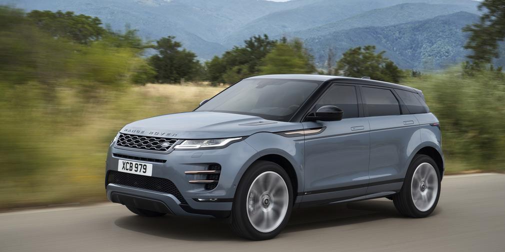 В России представлен новый кроссовер Range Rover Evoque