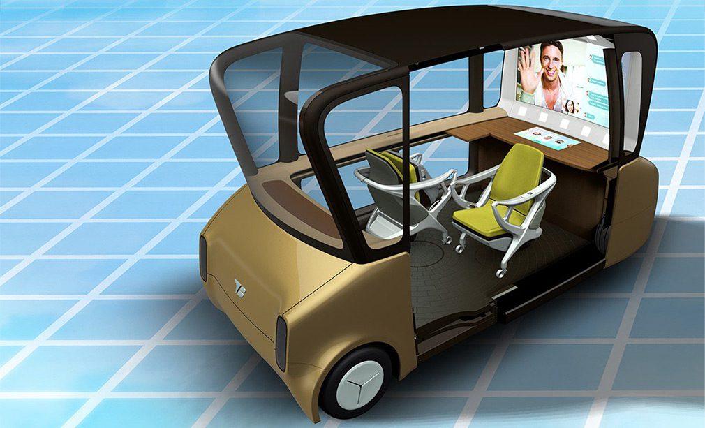 В Toyota показали салон своих будущих беспилотных автомобилей