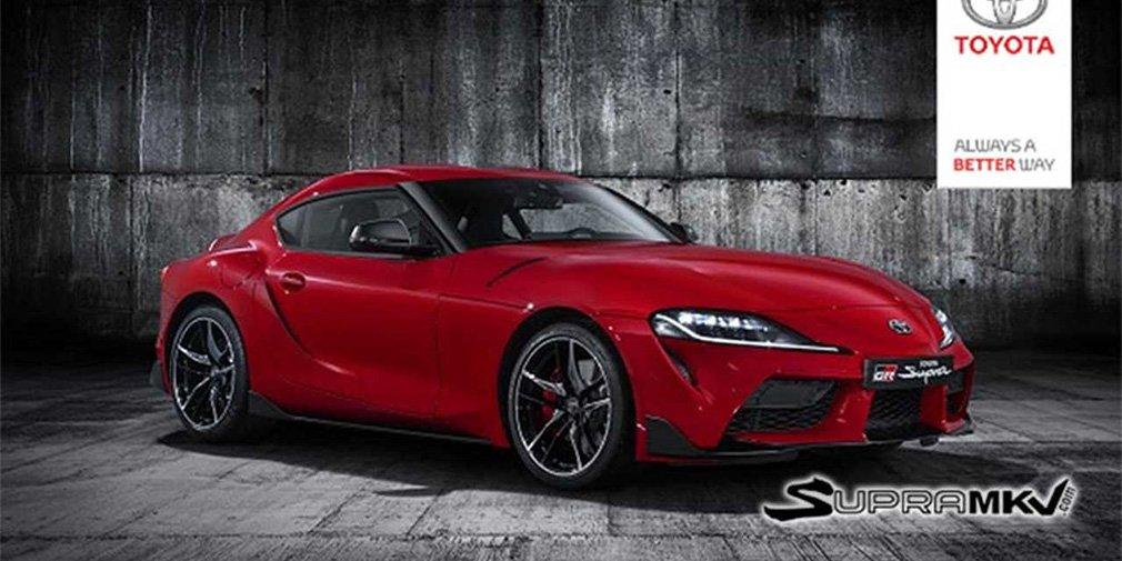 Дизайн экстерьера новой Toyota Supra полностью рассекречен