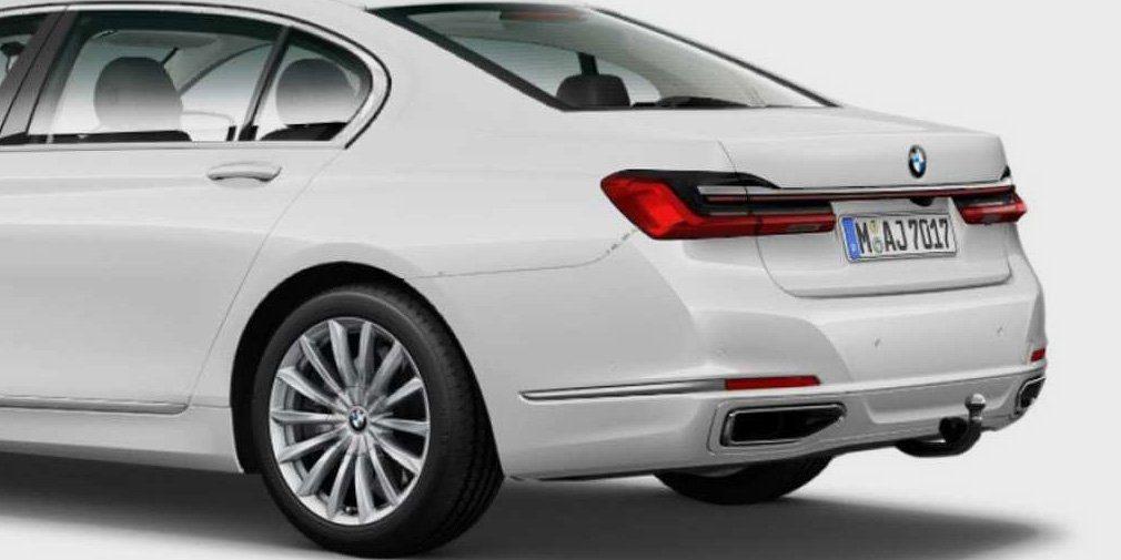 Внешность обновленного седана BMW 7-Series рассекретили до премьеры