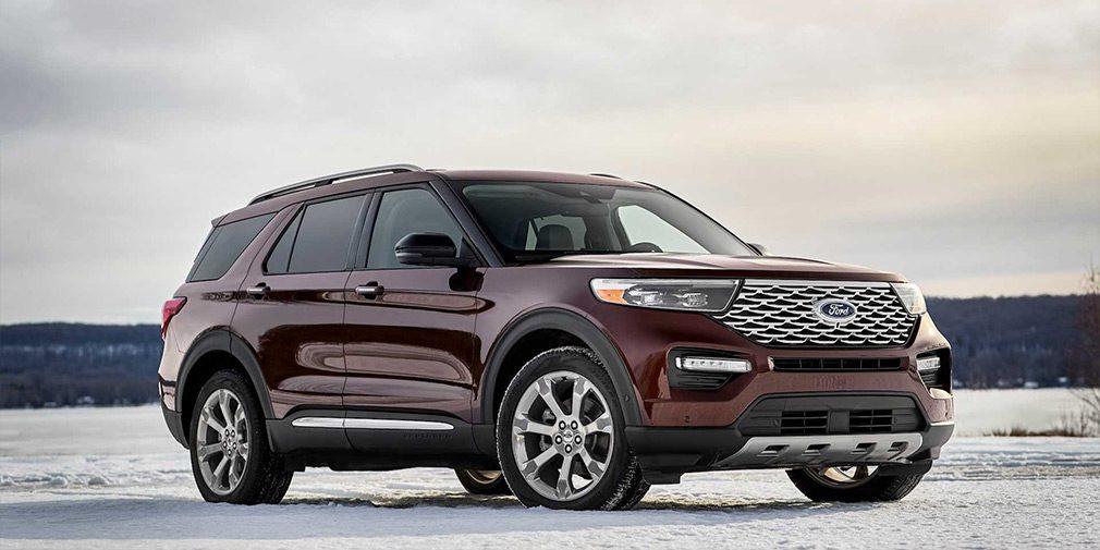 Показан новый внедорожник Ford Explorer