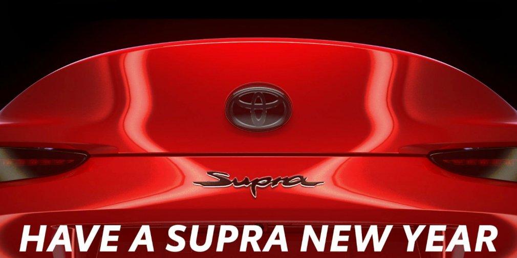 Toyota представила последний тизер возрожденной Supra 2020