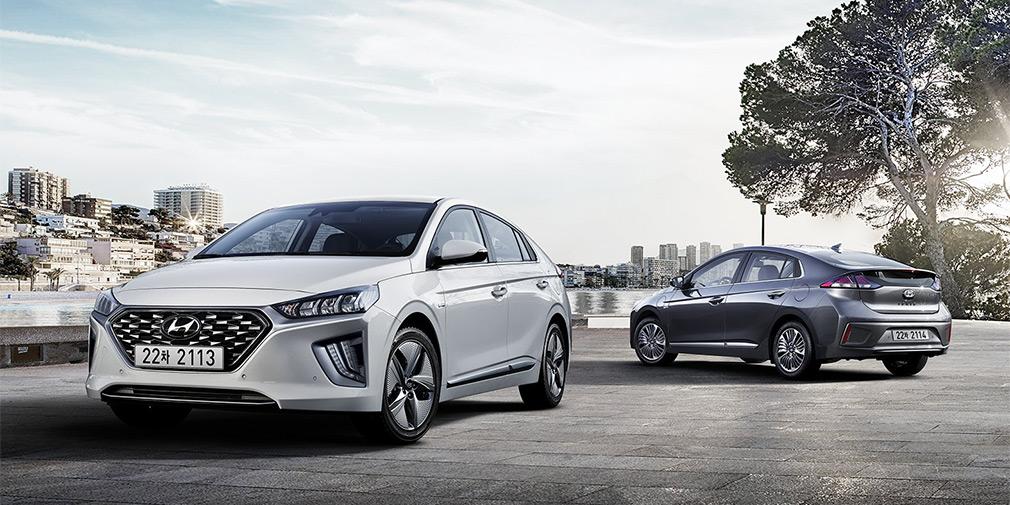 Обновленный Hyundai Ioniq появится на рынке в середине лета