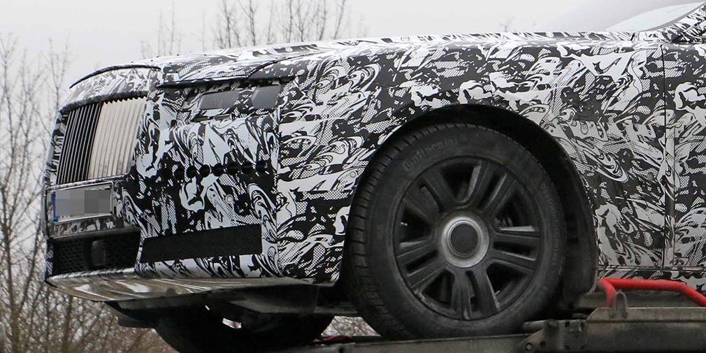 Новое поколение Rolls-Royce Ghost выйдет на рынок в 2020 году