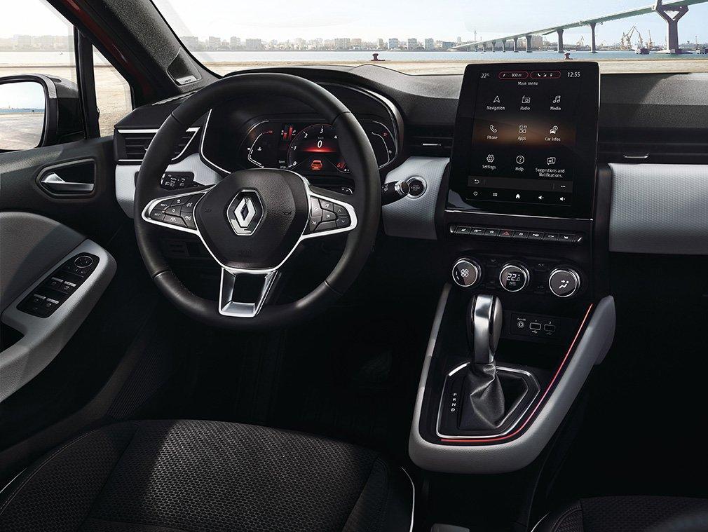 Renault показал салон нового Clio