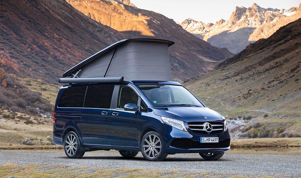 Компания Mercedes-Benz представила обновлённый минивэн V-Class