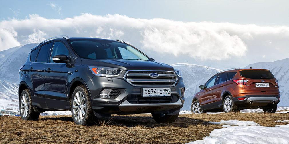 Ford Focus, Kuga и Mondeo получили специальную версию в России