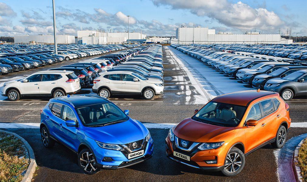 Кроссовер Nissan Qashqai стал бестселлером Nissan в России