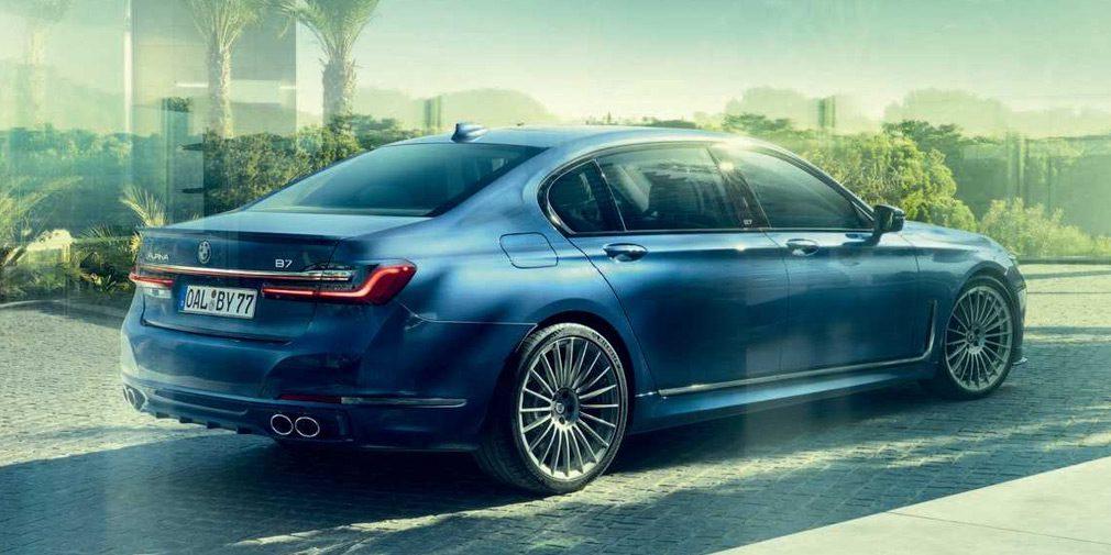 Alpina выпустила 600-сильный седан BMW 7-Series