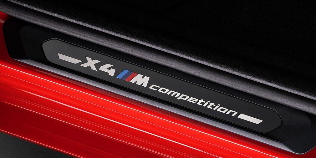 ВMW представила спортивные кроссоверы X3 M и X4 M