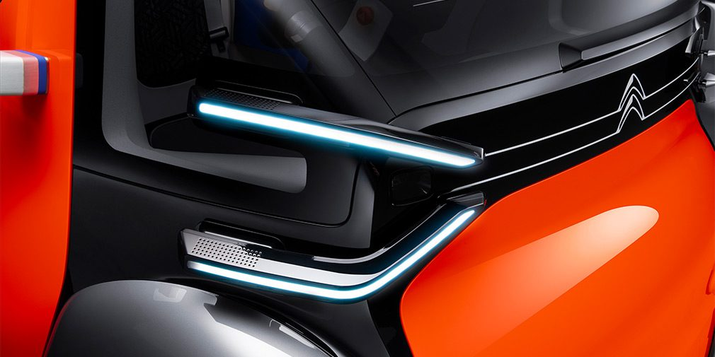 Citroen представила сверхкомпактный электрокар Ami One