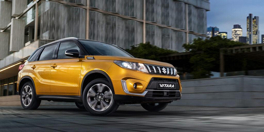 Suzuki объявила о скидках на обновленный кроссовер Vitara