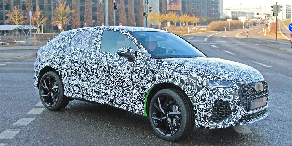400-сильный купе-кроссовер Audi Q4 замечен на тестах