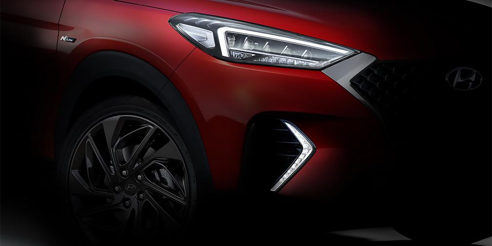 Hyundai анонсировал гибридный кроссовер Hyundai Tucson N Line