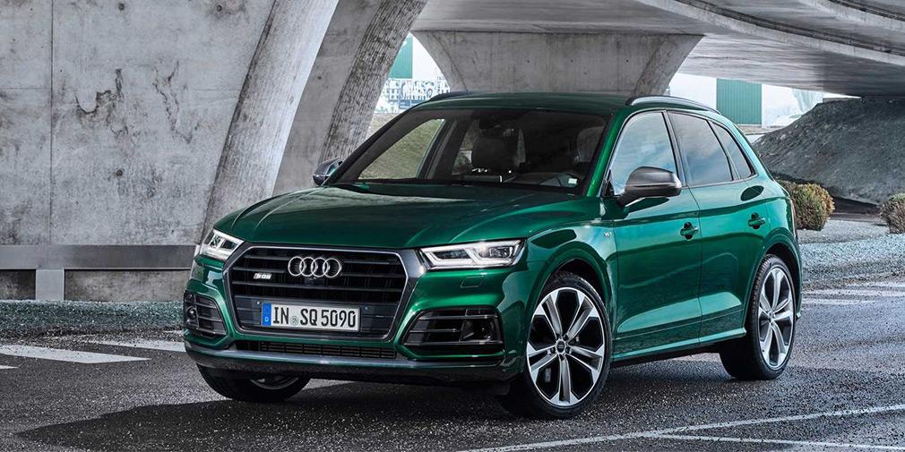 Кроссовер Audi SQ5 получил новый дизельный мотор