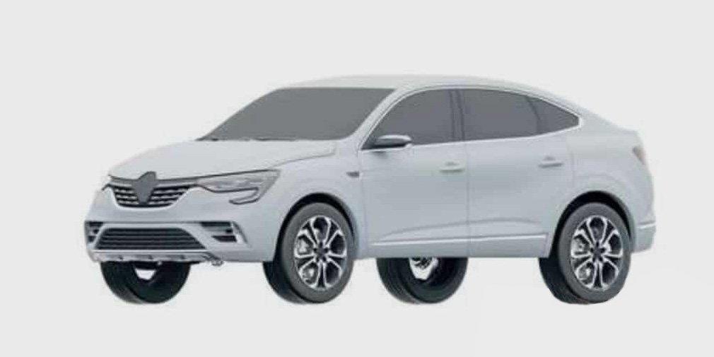 Засекреченный в России серийный Renault Arkana показали в Бразилии