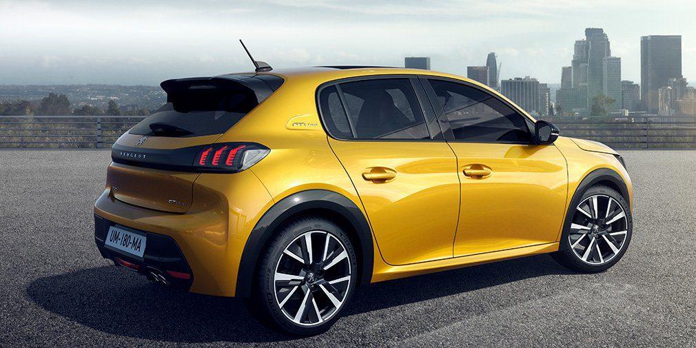 Peugeot представил новое поколение хэтчбека Peugeot 208