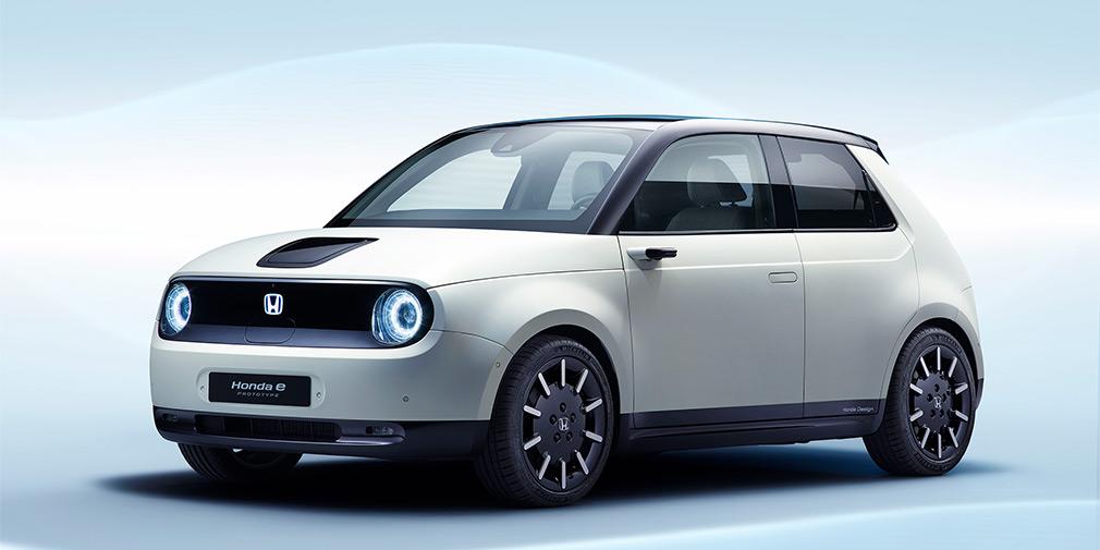 Honda показала новый электромобиль Honda E Prototype