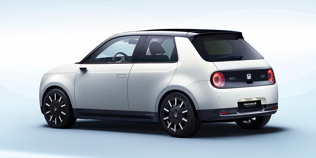 Honda раскрыла характеристики нового электрокара Honda e