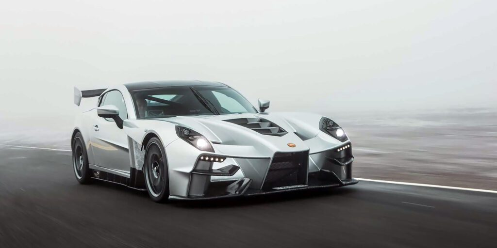 Компания Ginetta показала новый 600-сильный суперкар