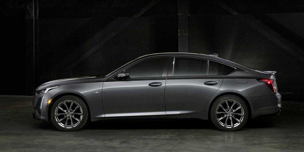 Компания Cadillac показала новый седан Cadillac CT5