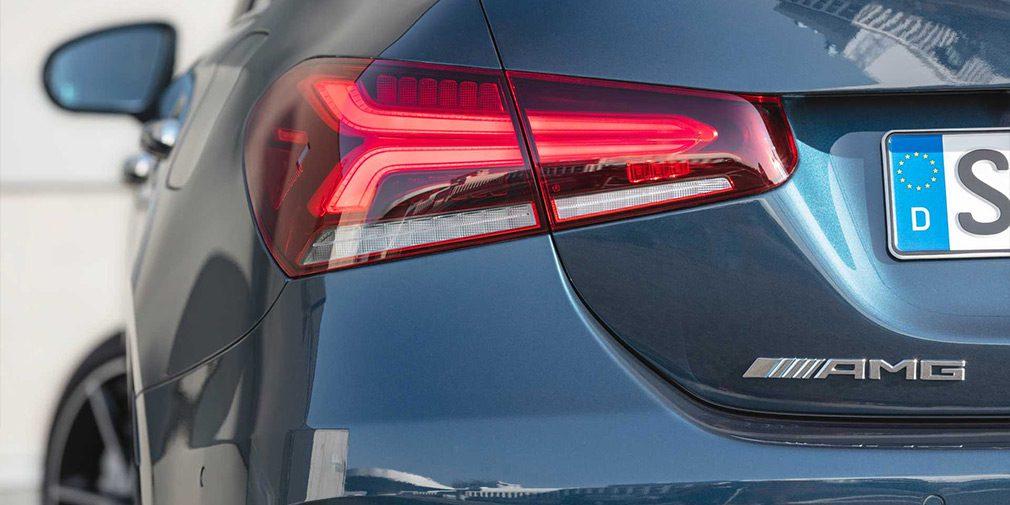 Представлен «заряженный» седан Mercedes-AMG A35