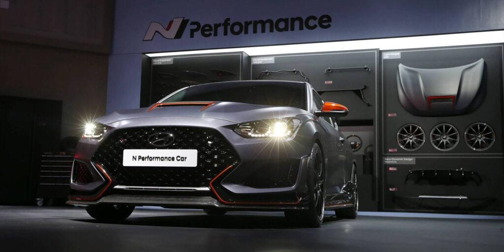 Компания Hyundai доработала 275-сильный хэтчбек Veloster N