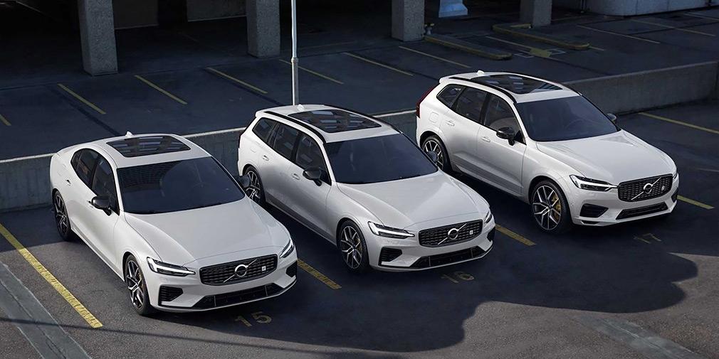 """""""Заряженные"""" Volvo XC60 и V60 получили гибридную установку от Polestar"""