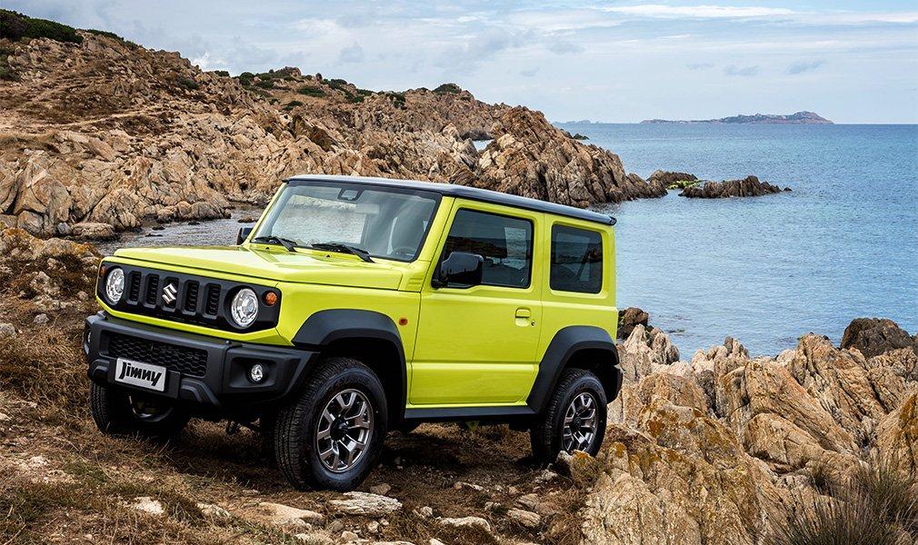 Suzuki рассказала о новом внедорожнике Suzuki Jimny для России