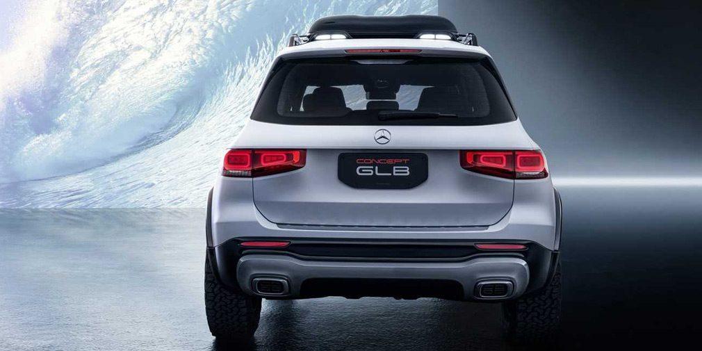 Маленький Gelandewagen: Mercedes-Benz GLB показали в Шанхае