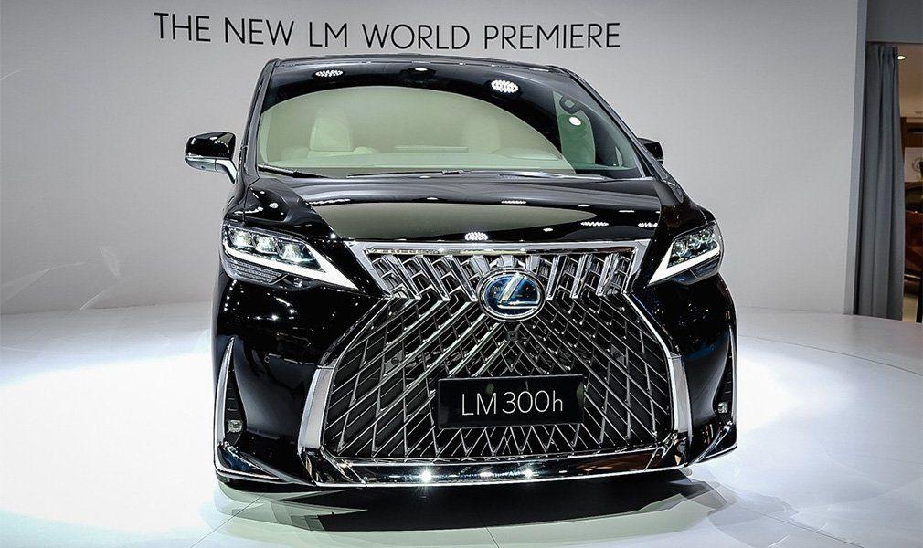 Представлен первый роскошный минивэн Lexus LM