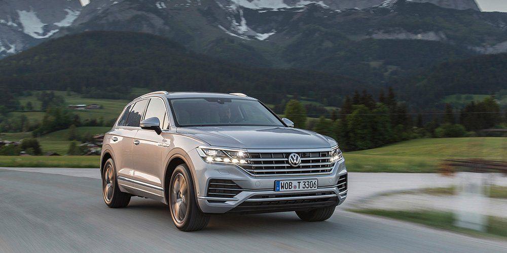 Кроссовер Volkswagen Touareg получил в России новую версию