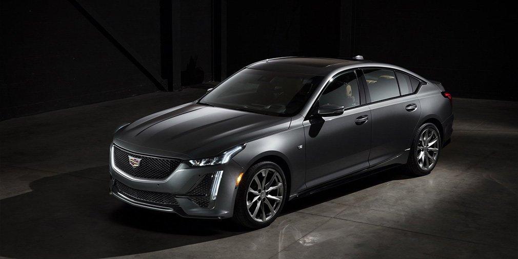 Новый седан Cadillac CT5 представлен официально