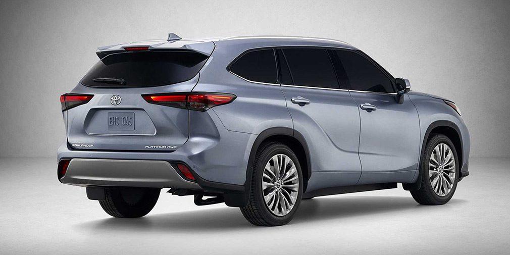 Toyota представила новый кроссовер Highlander