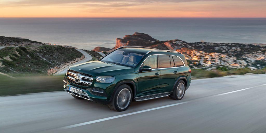 Новый Mercedes-Benz GLS стал доступен для заказа в Европе