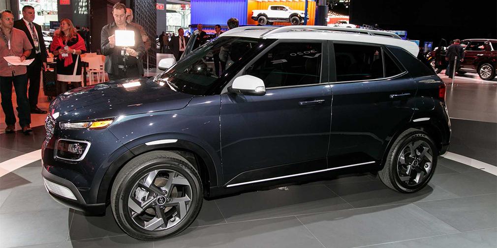 В Нью-Йорке показали самый маленький кроссовер Hyundai
