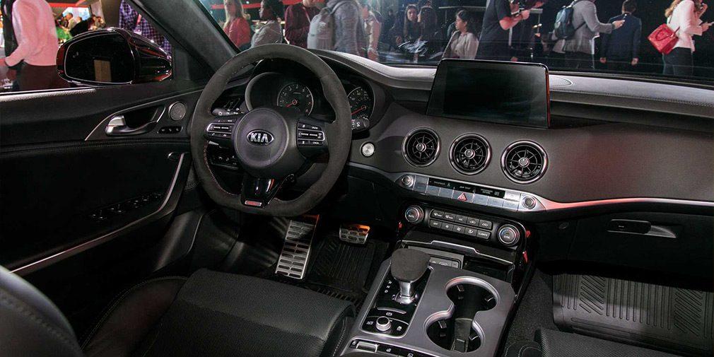 Kia выпустила спецверсию Kia Stinger для любителей дрифта