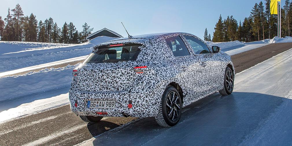Opel распространил фото нового поколения хэтчбека Opel Corsa