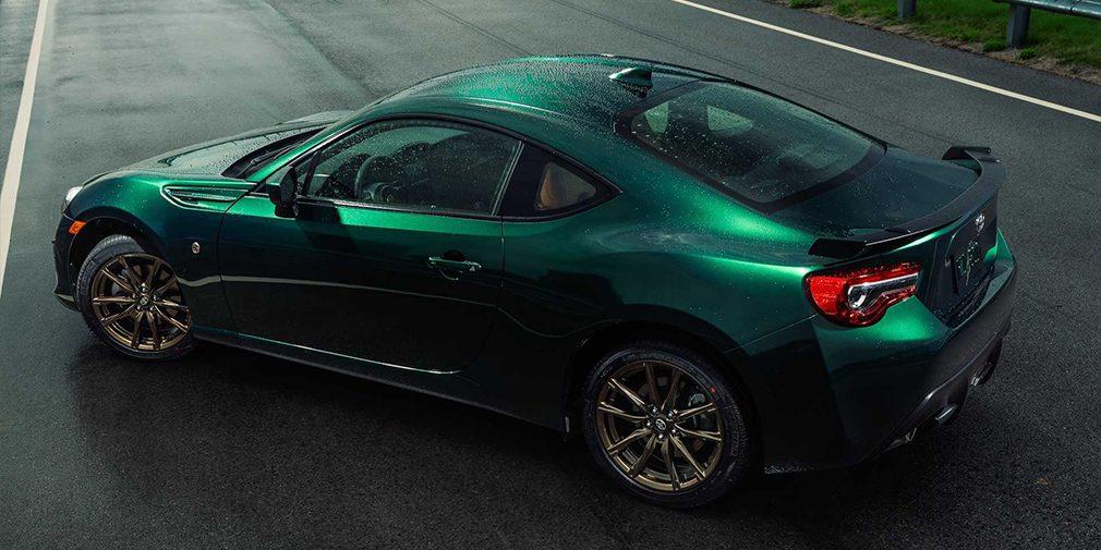 Toyota посвятила спецверсию купе GT86 горной дороге в Японии