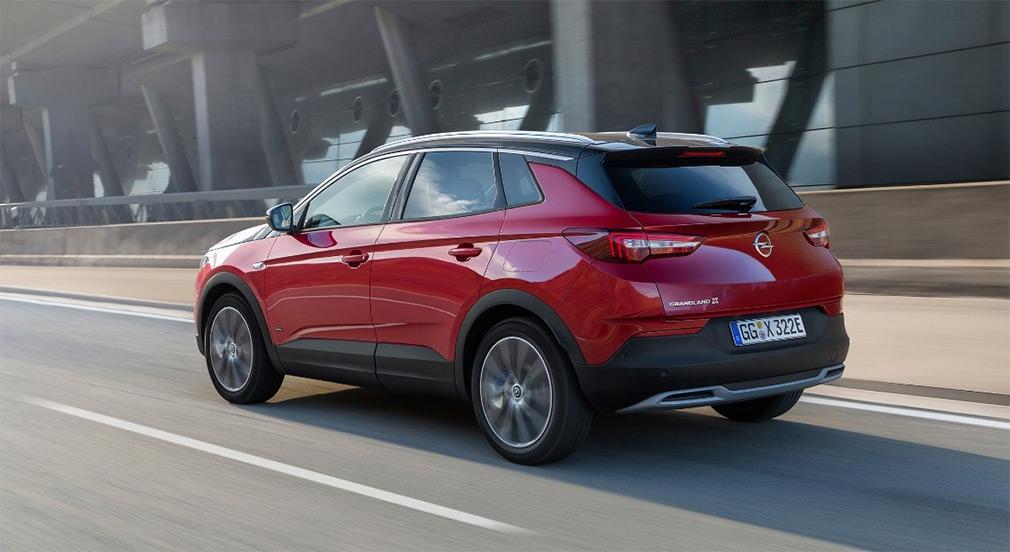 Opel разработал первый подключаемый гибрид на основе Grandland X